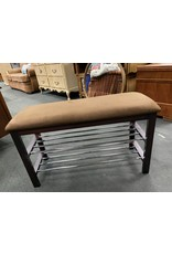 Small Brown Shoe Bench