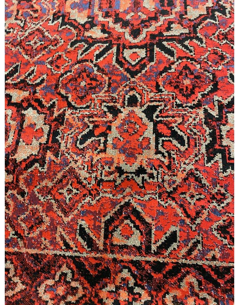 Jamil Medallion Red Indoor/Outdoor Area Rug