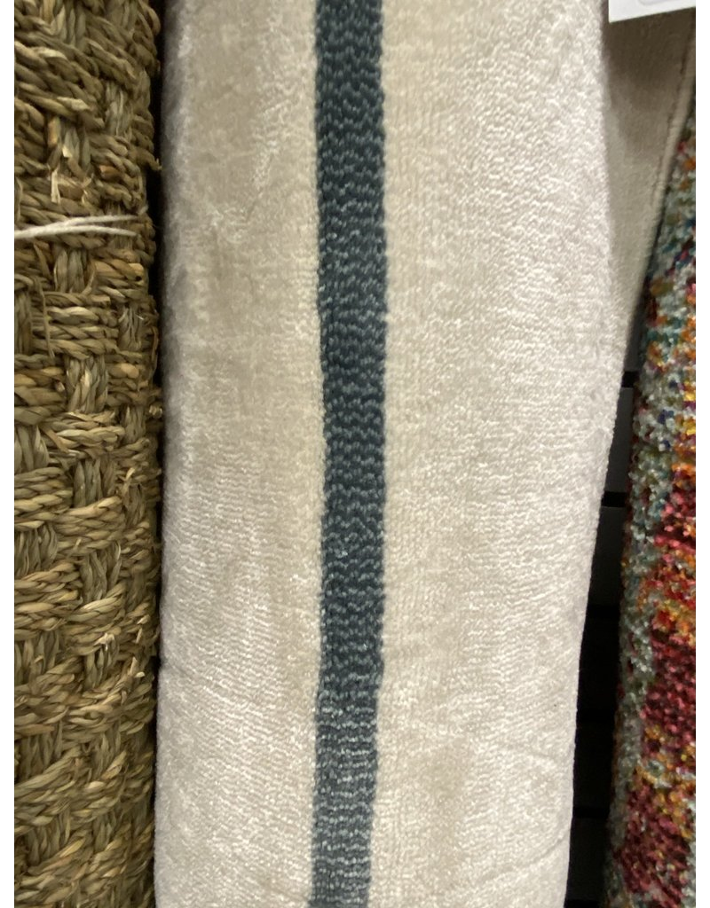 Ruthie Striped Ivory Area Rug