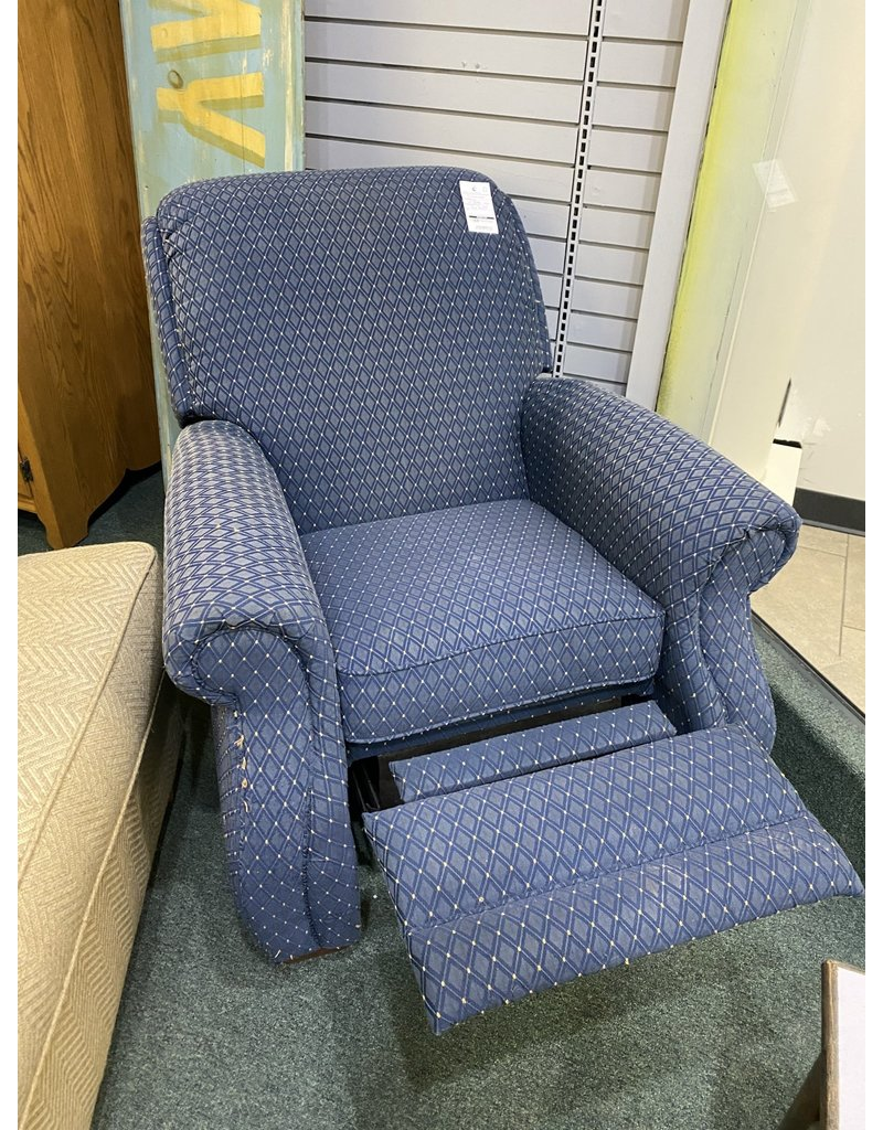 Blue Traditional Recliner by LazyBoy