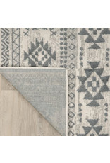 Tribal Southwestern Cream/Grey Area Rug