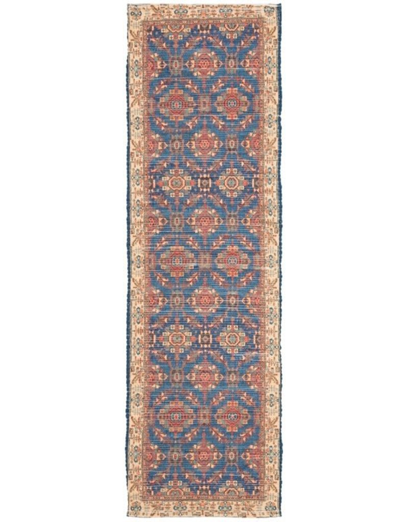 Abington Cotton Navy Area Rug