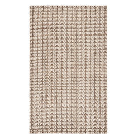 Crick Handmade Tufted Jute/Sisal Ivory/Light Brown Area Rug