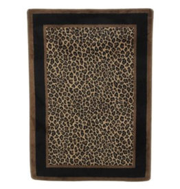 Victorville Leopard Animal Print Brown/Tan Area Rug