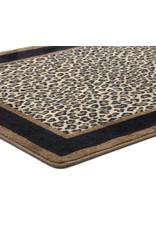 Victorville Leopard Animal Print Brown/Tan Area Rug