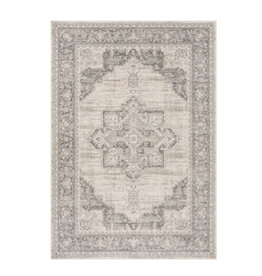 Halma Oriental Cream/Gray Area Rug