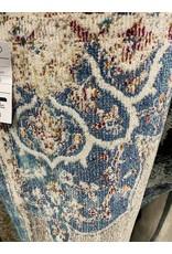 Bleecker Street Aidan Bohemian Vintage Floral Medallion Gray/Blue Area Rug