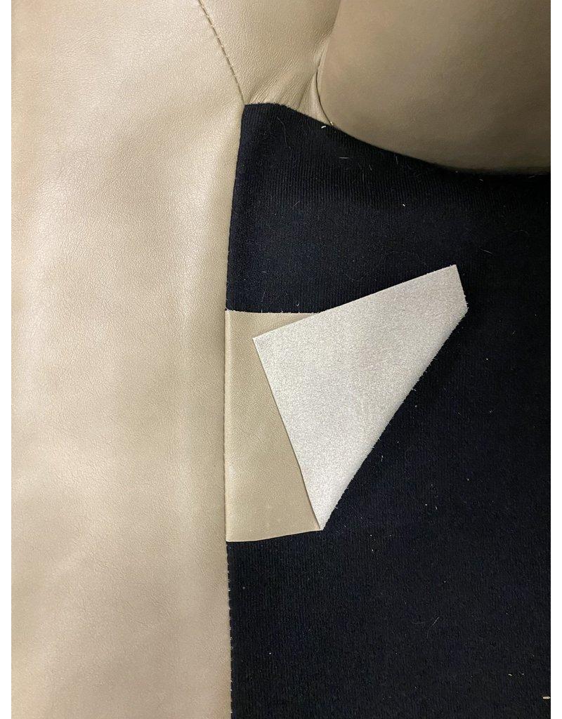 Tan Leather Chair w/ Nail head Trim