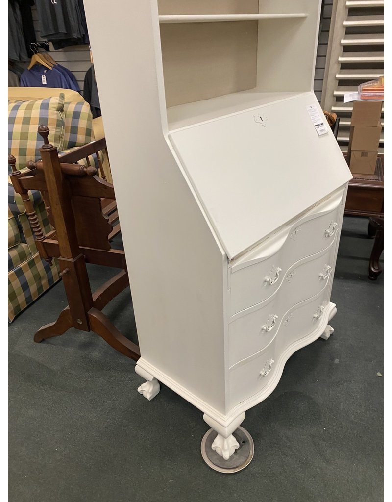 White Painted Federal Style Secretary
