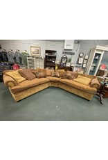 Multi Color 2 Piece Traditional Sectional by Arhaus