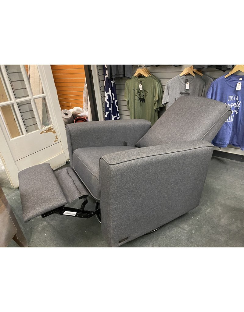 Gray  Swivel Rocker Recliner