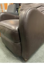 Dark Brown Leather Arm Chair