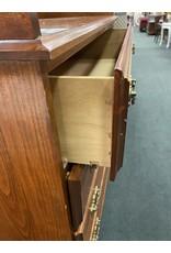 Wood 4 Drawer Dresser