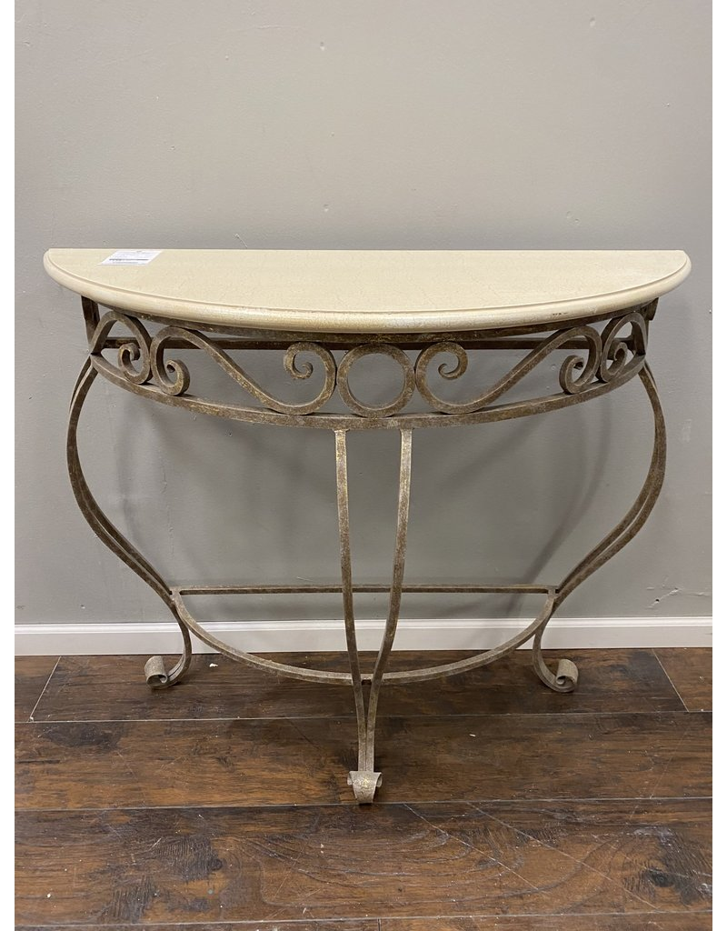 Demi Lune Entry Way Table