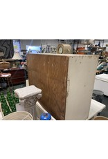 Farm Style White Chippy 2 Door Cabinet