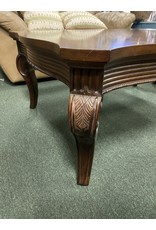 Dark Wood Traditional Coffee Table