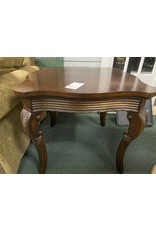 Dark Wood Traditional Side Table