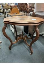 Oval Mahogany Parlor Table