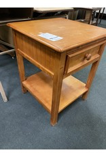 Pine Night Stand w/ Drawer