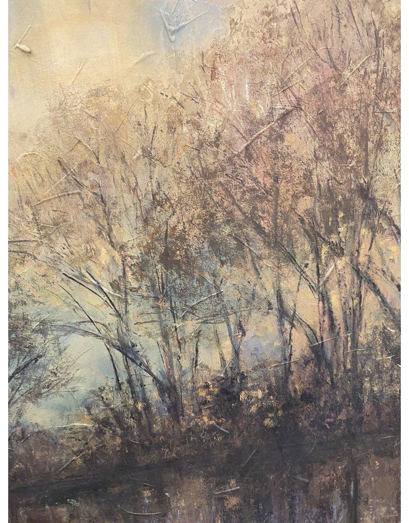Large Tree Landscape Framed Print