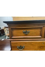 Federal Style Chest w/ 6 Drawers and Black Top