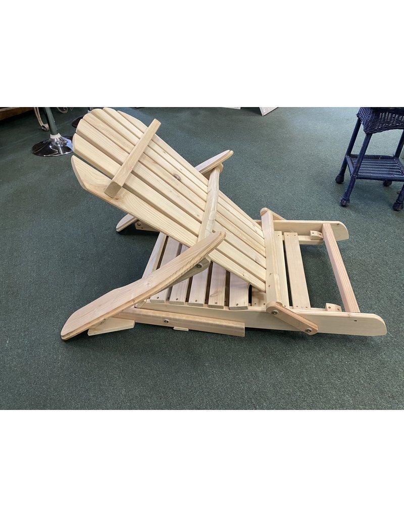 Pine Adirondack Chair w/ Lounger
