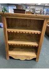Primitive Pine Bookcase