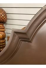 Dark Wood  Arched Full/Queen Size Headboard