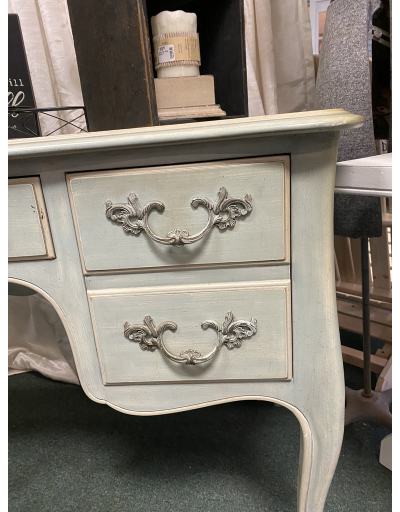 French Style Green Desk