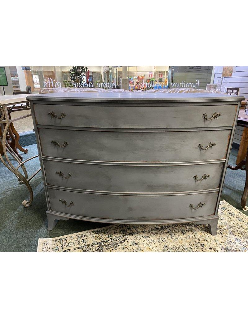 Dark Gray 4 Drawer Dresser