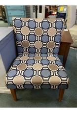 Modern Style Upholstered Slipper Chair