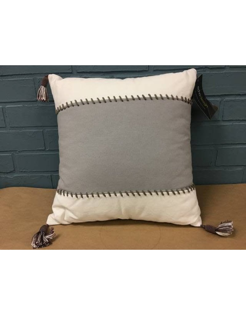 Dot Kat Cotton Throw Pillow