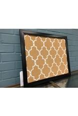 Alcott Hill® Quatrefoil Wall Mounted Bulletin Board