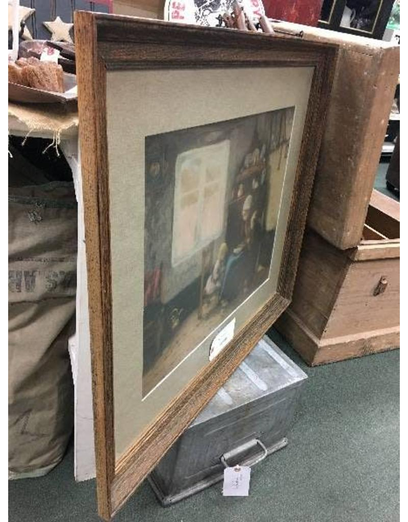 Large Matted and Framed Art Print