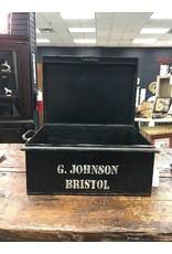 Vintage Metal Military Box