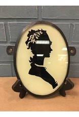 Silhouette w/Glass front & Leather Backing