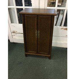 Three Posts Heritage 2 Door Storage Accent Cabinet