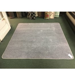 Joy Carpets Endurance Silver Gray Area Rug 6x6