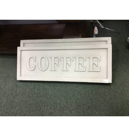 Coffee Resin Plaque