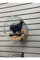 "Galvanized Egg Basket, 11"""