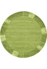 Unique Loom Sarah Del Mar Light Green 8' Round Area Rug