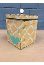 Large Bird Tin Box