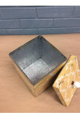 Large Bird Tin Box