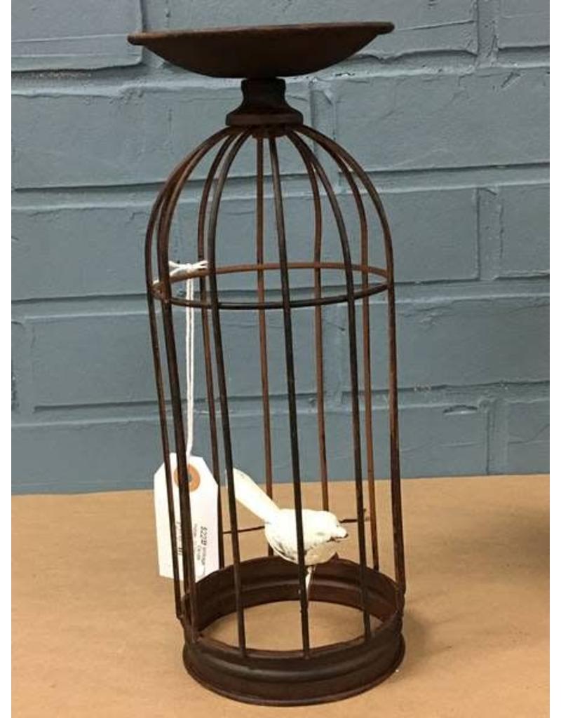 "Birdcage Candle Holder, 10.75"""
