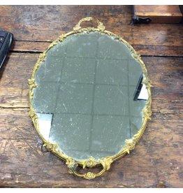 Glass Mirrored Tray