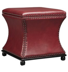 Darby Home Co Armisen Leather Storage Ottoman