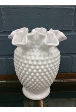 Milk Glass Vase - Fenton