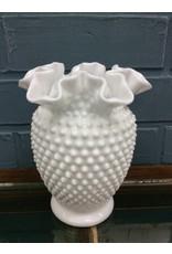 Milk Glass Vase - Fenton
