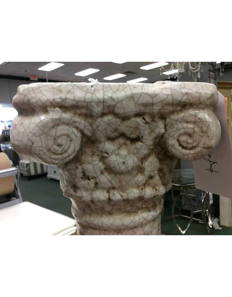 Ivory Column Pedestal Display