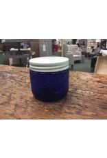 Vintage Glass Bottle 499 - Blue